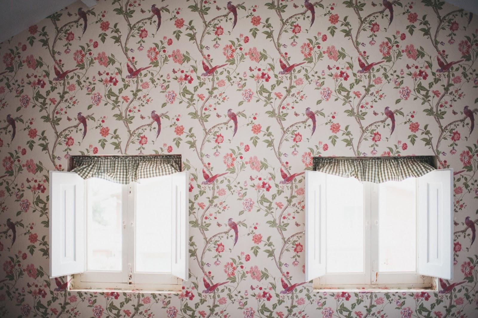 El blog de decoracion de laura ashley alamar surf house - Laura ashley papel pintado ...