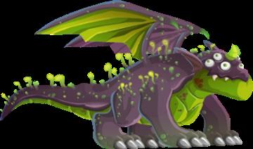 imagen del dragon toxico adulto