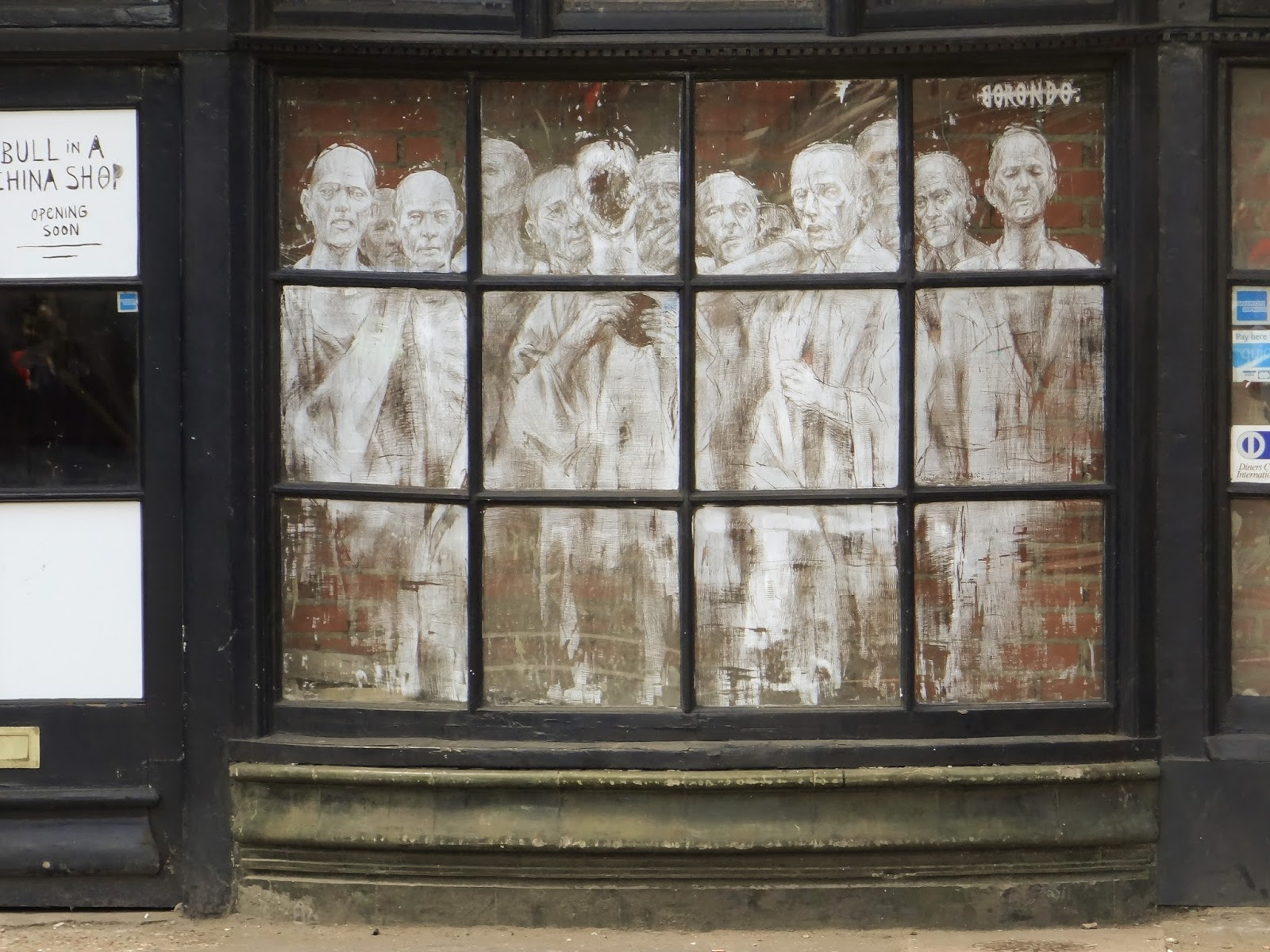 Borondo Londres London