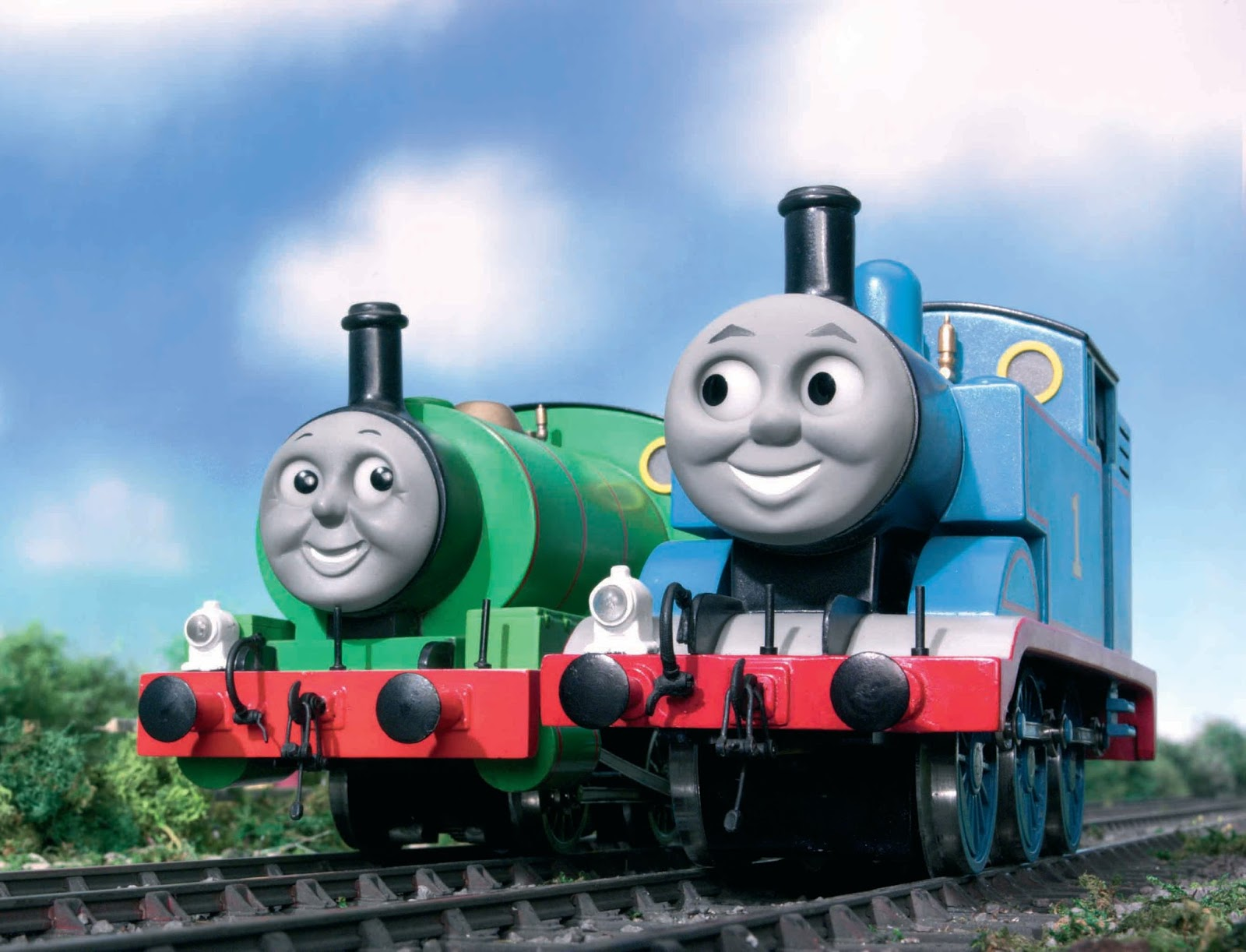 Gambar Kereta API Thomas