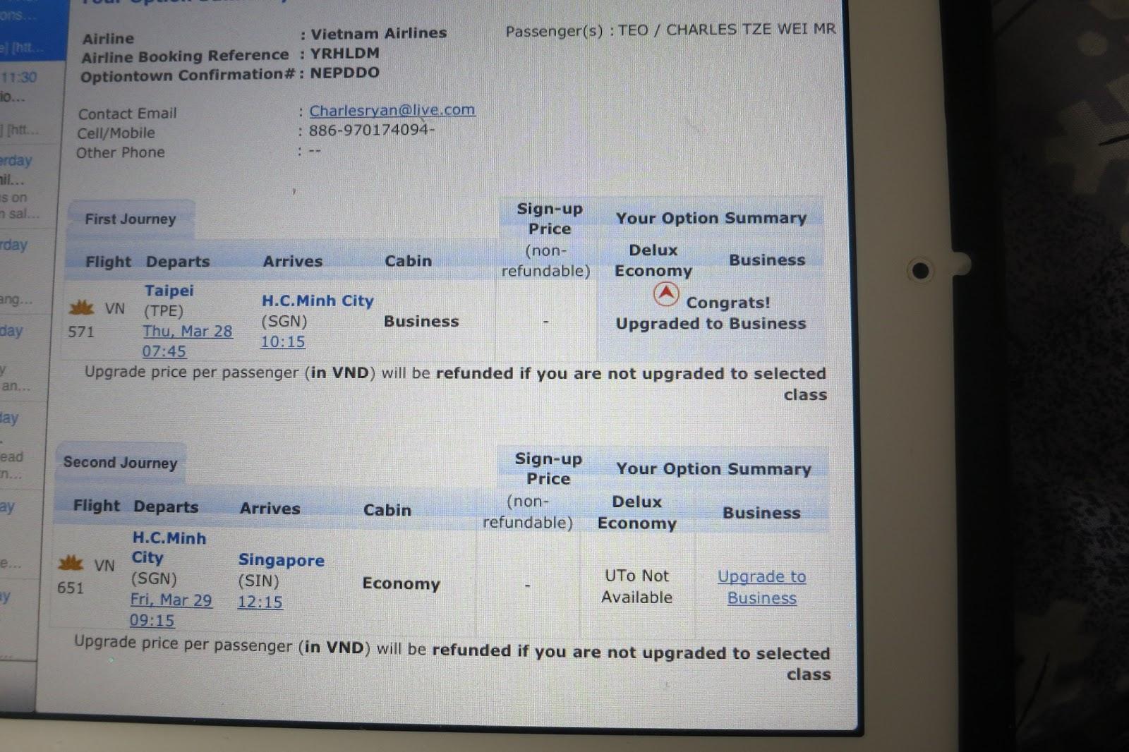 vietnam airline booking online