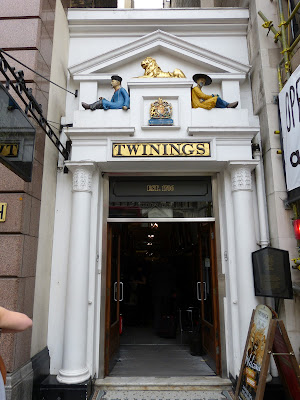 Twinings tea shop, 216 Strand, London