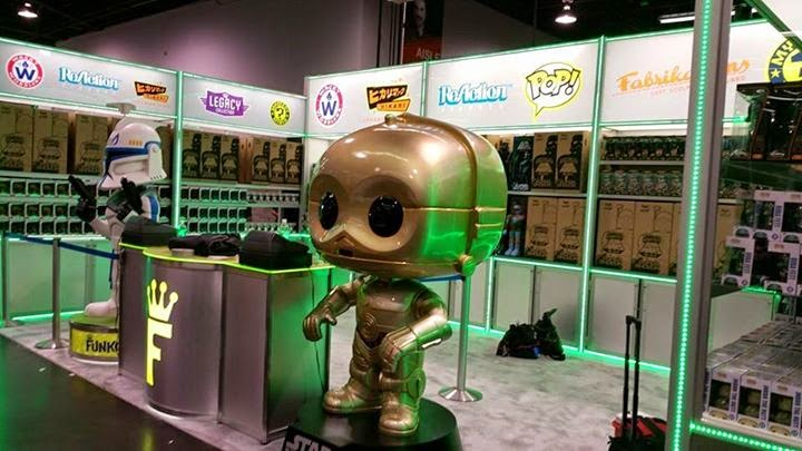 Funko Pop! Stand Star Wars Celebration 2015