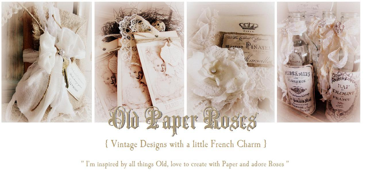 Old Paper Roses