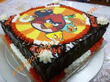 Kek Coklat Moist edible image - RM 45.00