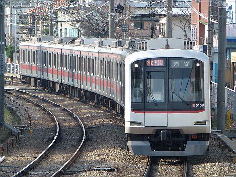 東急東横線 通勤特急 渋谷行き 5050系