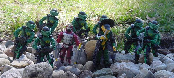 2002 Serpentor, ARAHC, Internet Exclusive, Abutre Negro, Estrela, Brazil, Funskool Crimson Guard Immortal, Night Viper, Tigor, Chinese Exclusive Flint, Night Rhino