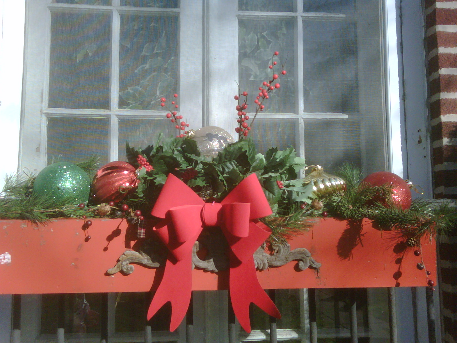 Christmas Box Decorations Ideas Christmas Window Boxes Ideas