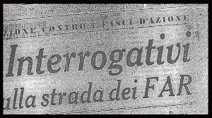 F.A.R. FASCI D'AZIONE RIVOLUZIONARIA