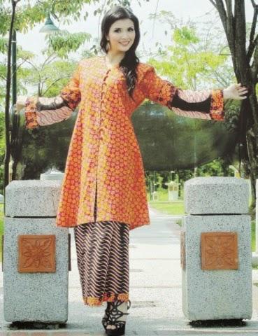 Foto Model Baju Kebaya Labuh 2014