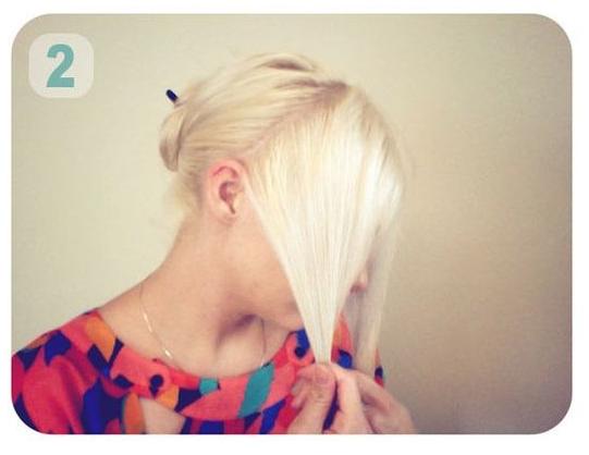 cara membentuk rambut seperti bando tutorial