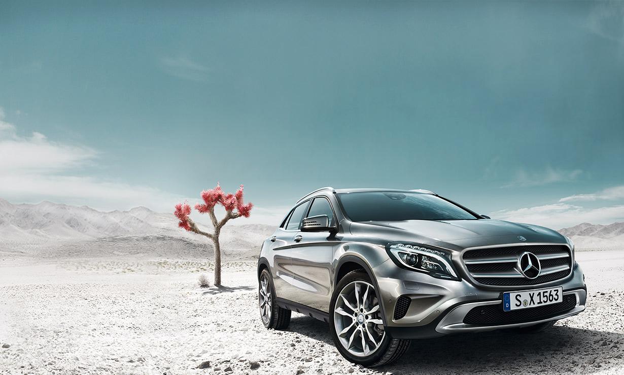 Mercedes gla neu