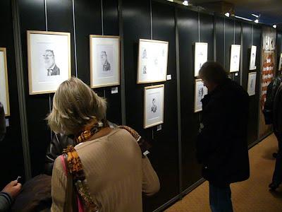 Exposition Wanted! à Quai des Bulles 2012 - Dessins de Thierry Coquelet
