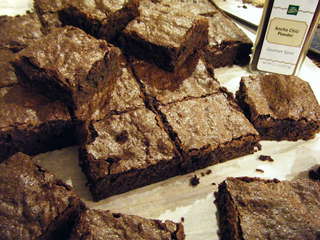 west side baker: Spicy Brownies: Baked Sunday Morning