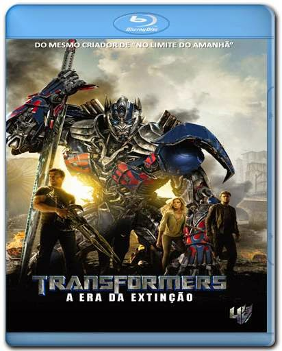Transformers 4 A Era da Extincao 720p + 1080p 3D Bluray BRRip + AVI Dual Áudio BDRip