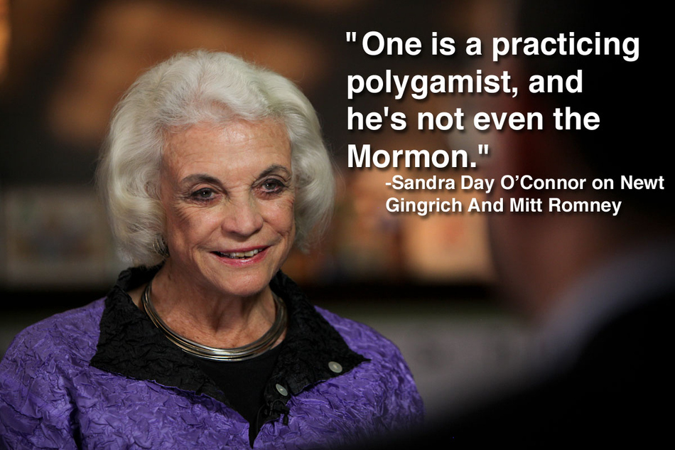 Sandra Day O Connor Quotes Alluring Tennessee Guerilla Women Sandra Day O'connor Jokes About Newt