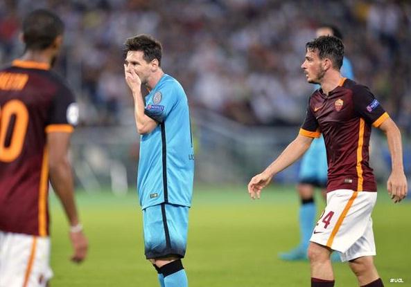 FT: AS Roma 1-1 Barcelona Champions League Kamis Dini Hari 17 Sept 2015