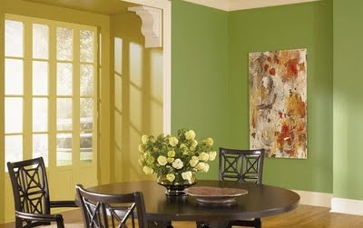 Fancy home decor dining room color inspiration of the day for Dining room colour inspiration