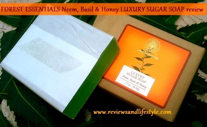 Forest Essentials Luxury Sugar Soap Review Price Ingredients