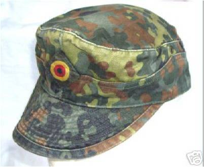 Military  on House Of The Brave  German Army Flecktarn Camo Field Cap