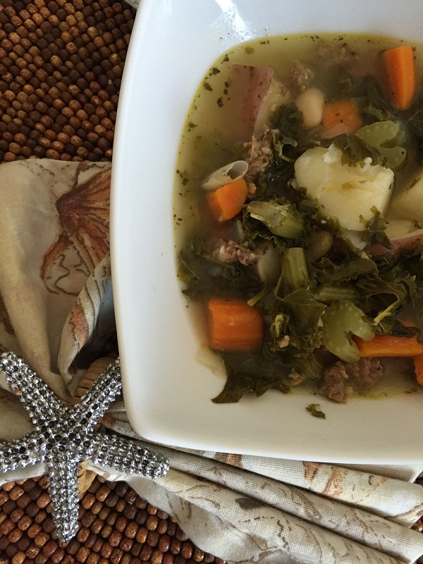 ... , In All Directions: Italian Sausage and Kale Soup #Recipe @DonnaFaz