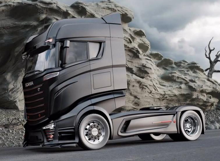 Scania R800 Y R1000  Concept Trucks Que No Dejan Indiferente A Nadie