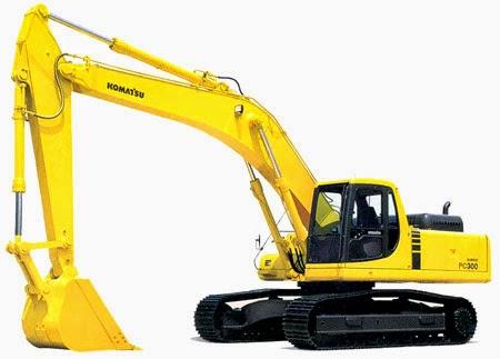 Komatsu Excavators PC300-7