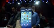 O Galaxy S4, apresentado pela Samsung na noite de 14 de março, .