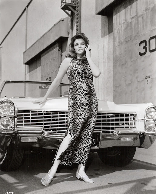 Ann Margret and 1965 Cadillac