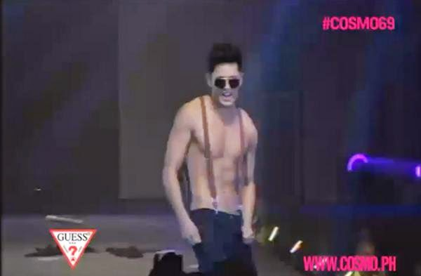 James Reid falls off stage of Cosmo Bachelor Bash