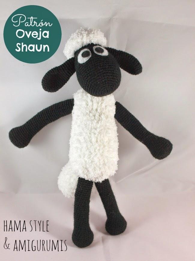 Marta Ruso Crochet Creativo: Oveja Shaun - amigurumi [Patrón a la VENTA]