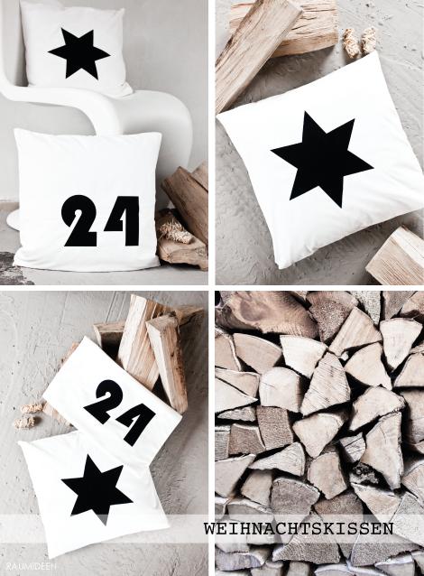 DIY   Kissen Mit Weihnachtlichen Motiven Selbst Bedrucken