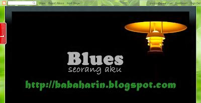 blog Blues Seorang Aku