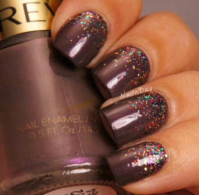 NailaDay: Revlon Perplex with China Glaze Glitter All the Way