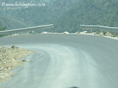 Well maintained roads to IIT Mandi