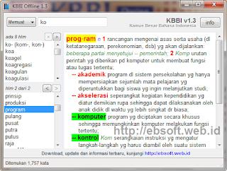KBBI Offline, Download KBBI Offline