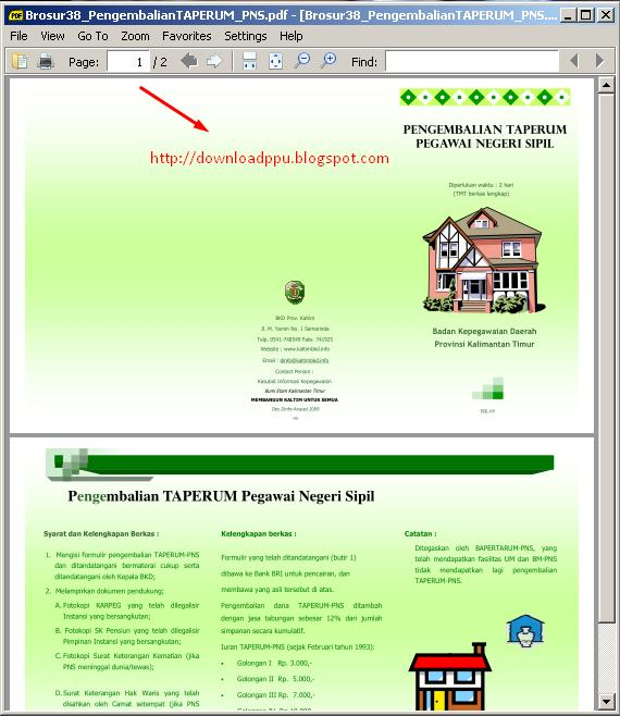 Download Software : Sumatra PDF Software Gratis Alternatif Adobe PDF
