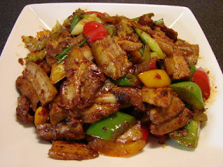 Twice Cooked Pork Stir-Fry