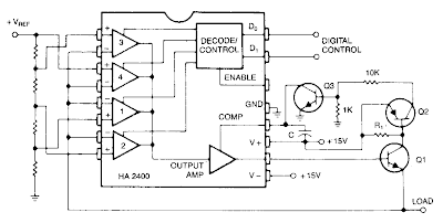 Programmable Power Supply Circuit Diagram