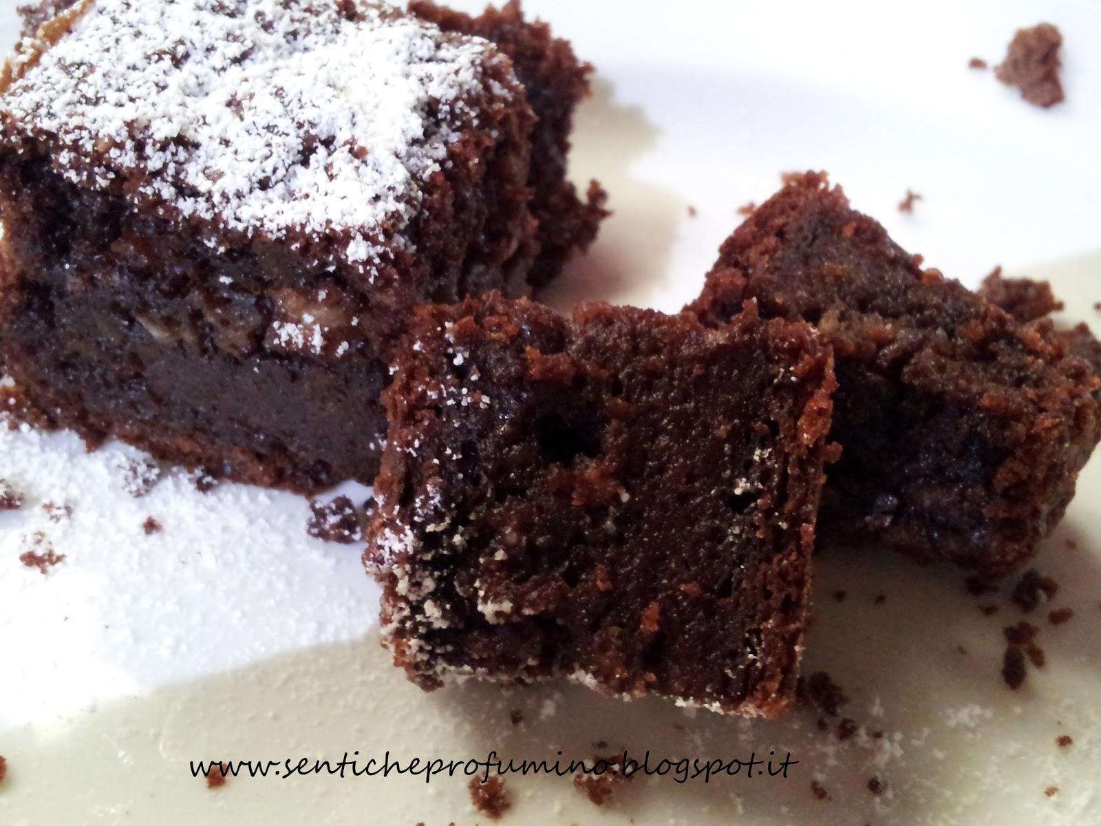 Torta di pane al cioccolato fondente | Senti che profumino