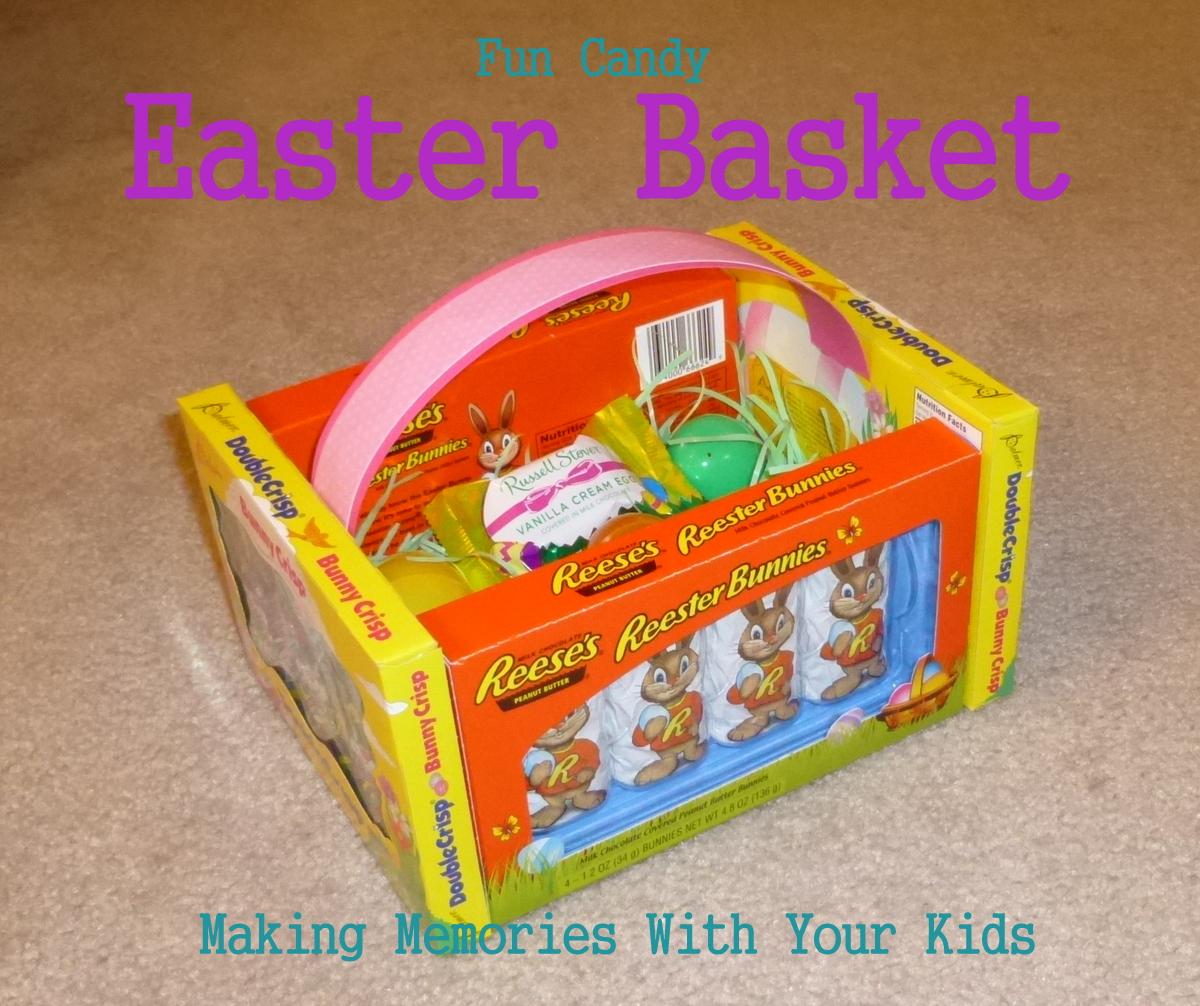 Edible easter baskets making memories with your kids edible easter baskets negle Images