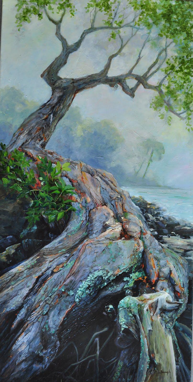 Sheri Farabaugh Daily Paintings Tree Of Life Original Painting