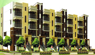 Circulo Verde Garden Homes Perspective Hi-End Luxury Townhouse for sale in Libis, Quezon City