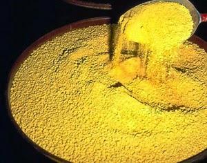 Yellow Cake Radioactive