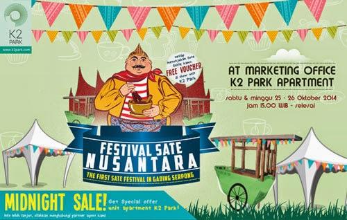 Festival sate nusantara Prioritas Land Indonesia