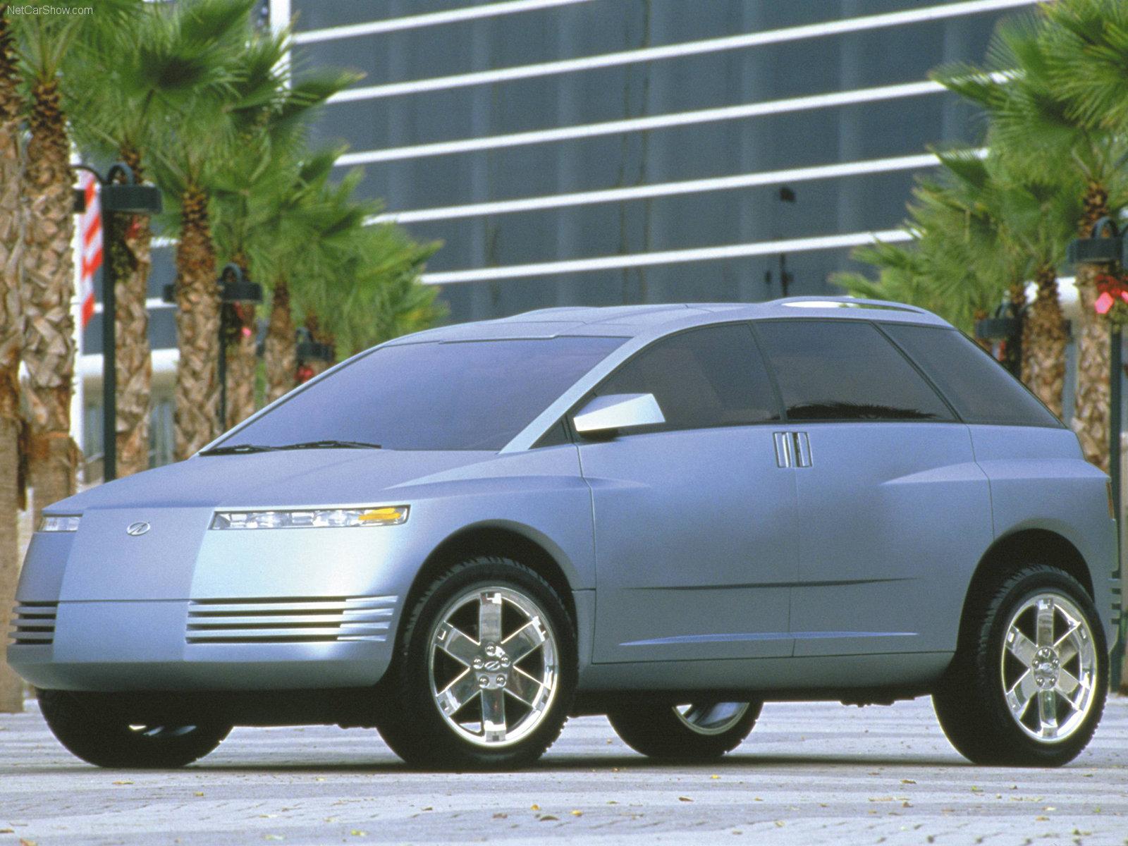 Hình ảnh xe ô tô Oldsmobile Recon Concept 1999 & nội ngoại thất