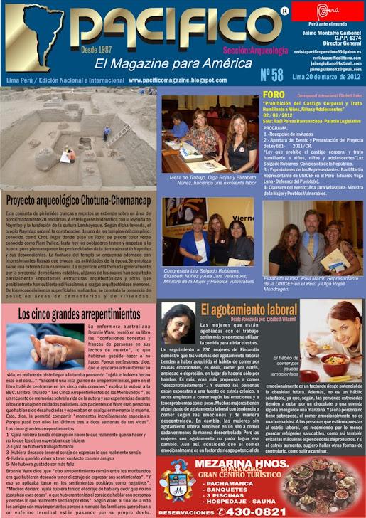 Revista Pacífico Nº 58 Arqueología
