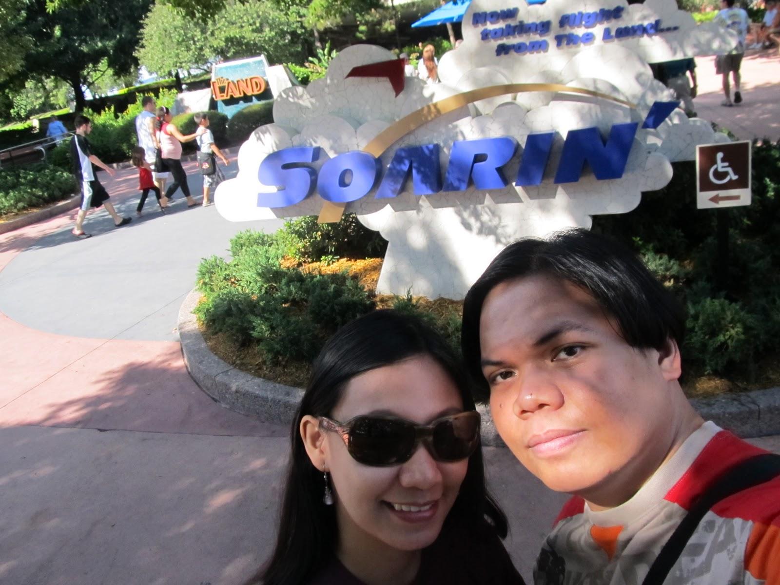 Disney Epcot Soarin