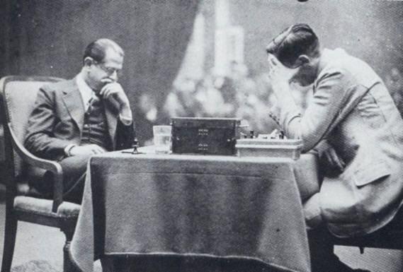 José Raul Capablanca contre Max Euwe, Amsterdam 1931