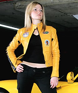 AbbyShot's Retired Kill Bill Inspired Bride Jacket